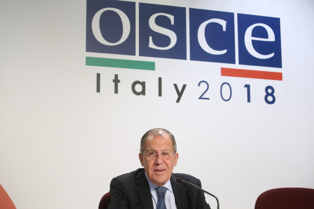 Foreign Minister Sergey Lavrov's remarks and answers to media questions at a news conference following the 25th OSCE Ministerial Council, Milan, December 7, 2018