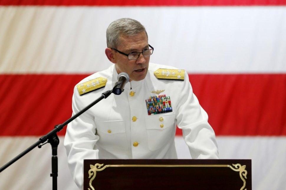 Le commandant de la marine américaine au Moyen-Orient retrouvé mort à Bahreïn
