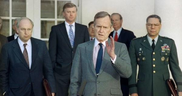 The Bowdlerized Bush Obituaries