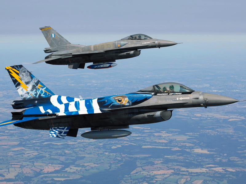 A Closer Look At Greek Air Force