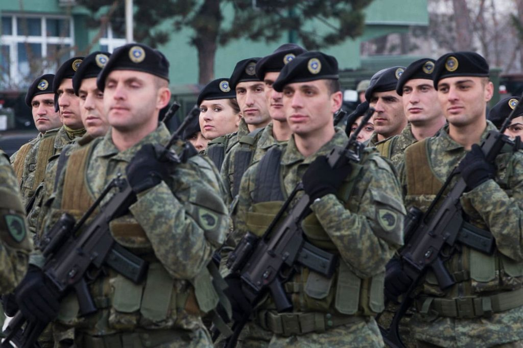 Self-Declared Republic Of Kosovo Moves To Turn Its 4,000-Strong Security Force Into Regular Army