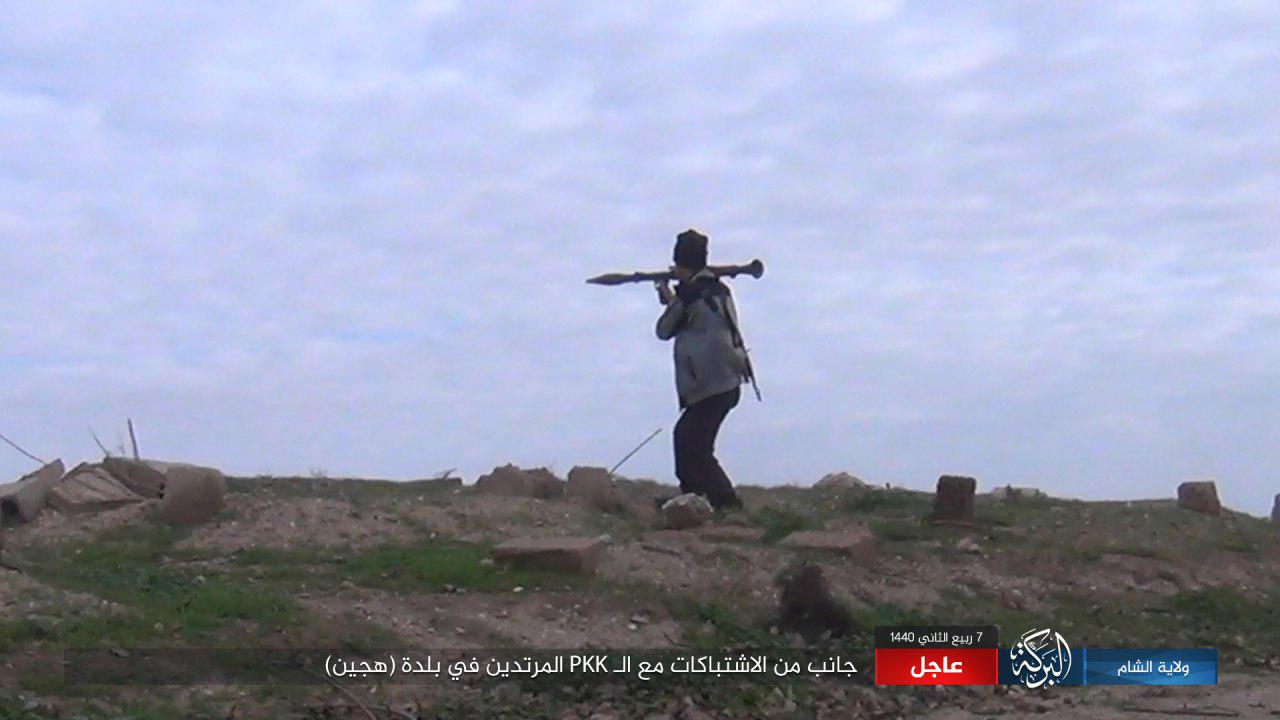 ISIS Loses Dozens Of Fighters While Trying To Hold Onto Its Positions In Hajin (Photos)