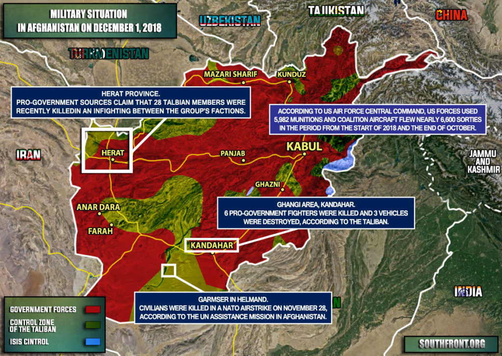 US Dropped Record High Number Of Munnitions On Targets In Afghanistan Since Start Of 2018