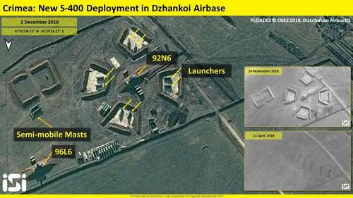 """Russia Completes Rearming Crimea With S-400 Missiles To """"Neutralize Possible Threats"""""""