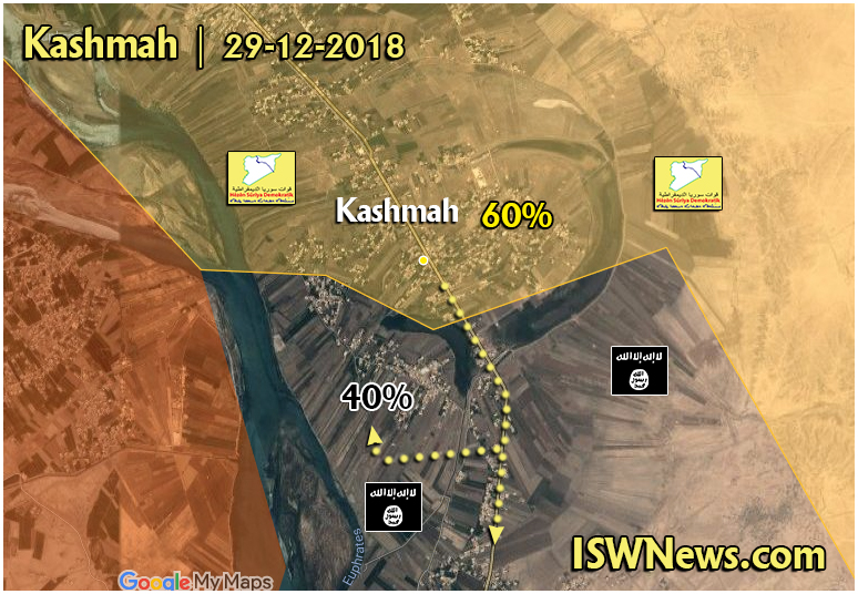 In Maps: SDF Makes Gains Against ISIS In Euphrates Valley