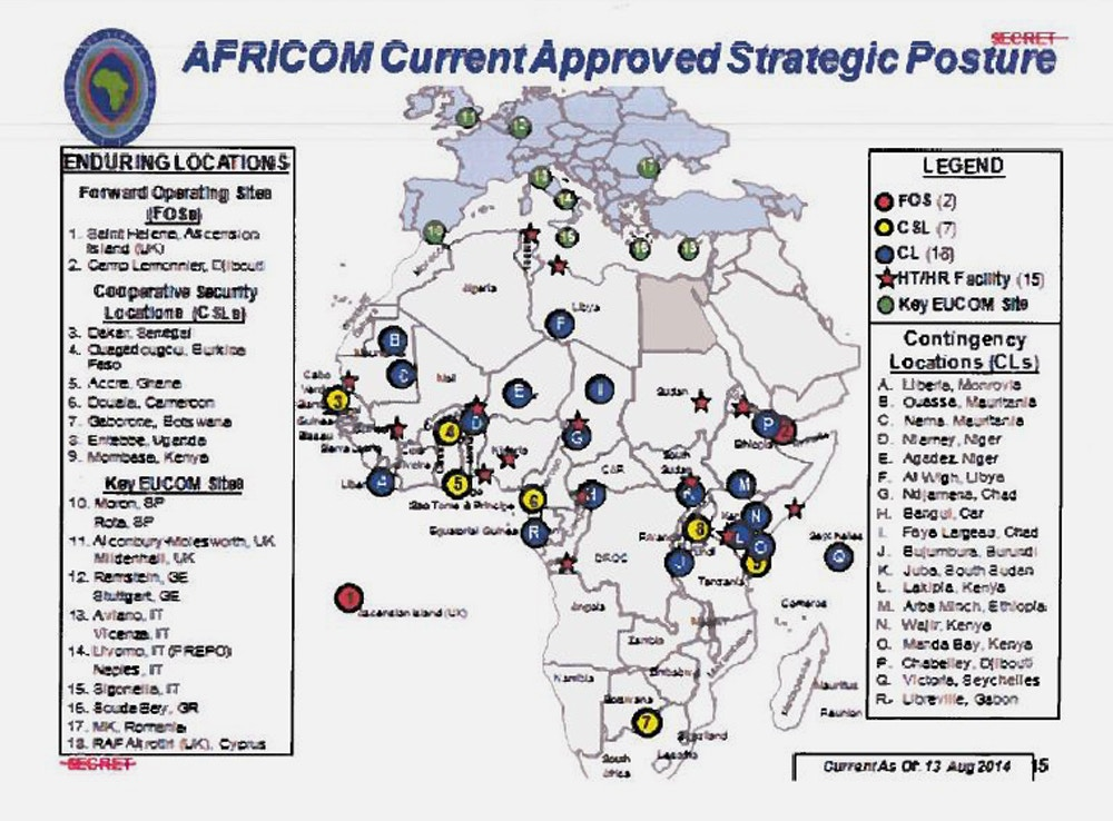 """Documents Reveal """"Sprawling Network"""" Of US Military Bases In Africa"""