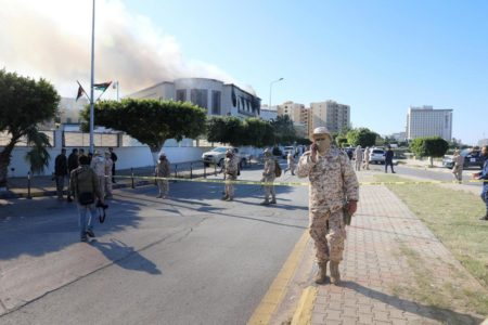 3 ISIS Suicide Bombers Raided Libyan Foreign Ministry Building in Tripoli. At least 3 People Killed