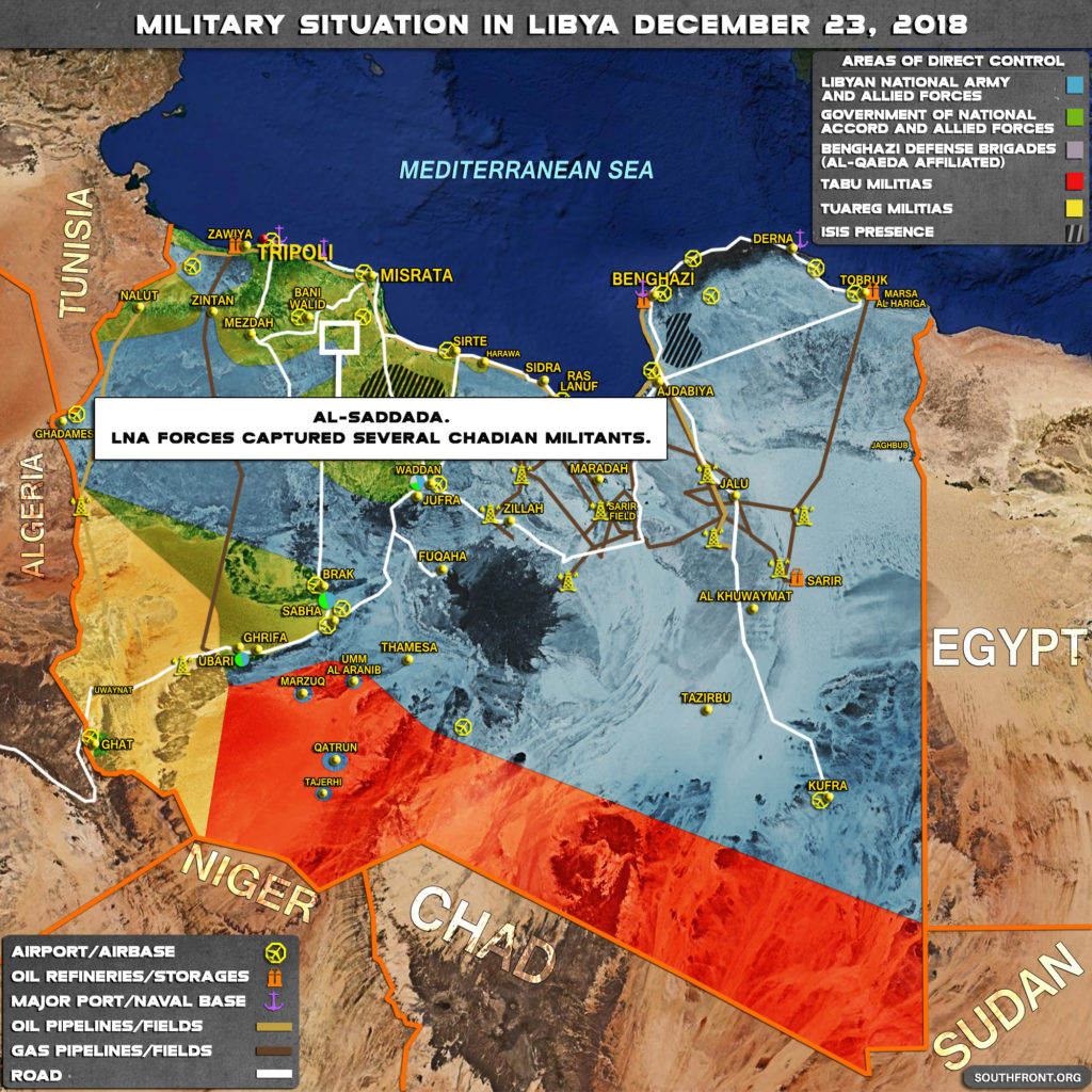 LNA Expands Influence In Northwestern Libya After Series Of Operations Against Local Militant Groups (Map)