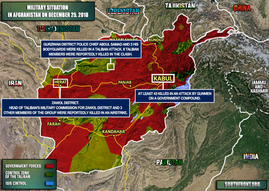 Large Attack In Kabul Leaves At Least 43 Dead. Taliban Demands US Withdrawal From Afghanistan