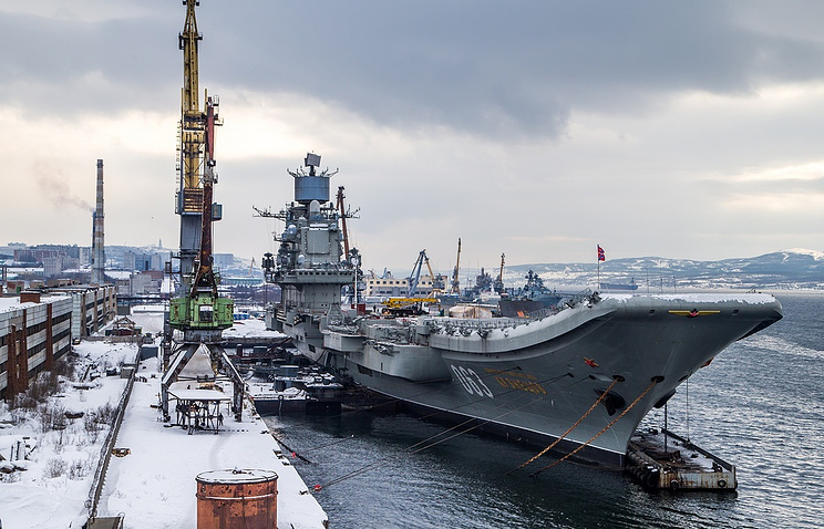 Two Servicemen Stole 1.4m-Ruble-Worth Electronic Components From Admiral Kuznetsov