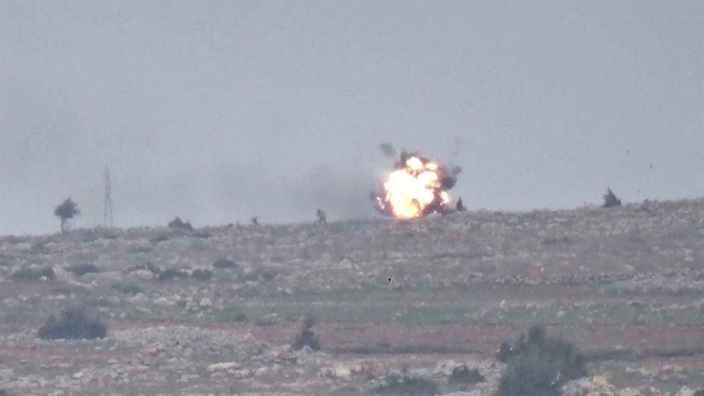 YPG Claims That 11 Turkish-backed Militants Were Killed In Two Fresh Attacks In Afrin