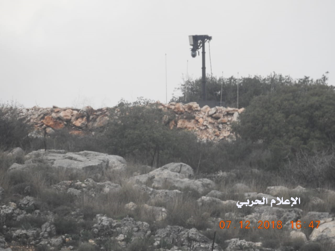 New Hot Point: Israeli Military Fires Warning Shots And Plants Sensors On Separation Line With Lebanon (Photos)