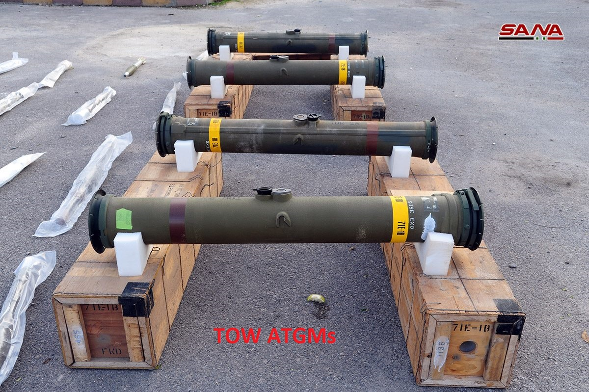 Army Uncovers Loads Of Ammunition, Including TOW Missiles, In Southern Syria (Video)