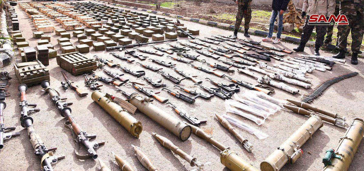 Army Captures Cache Of Anti-Aircraft & Anti-Tank Missiles In Southern Syria (Photos)