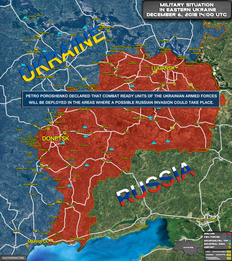 Poroshenko Regime Continues To Fuel Military Tensions In Region