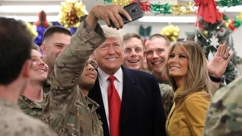 US Will Not Withdraw Troops From Iraq: Trump Says During Unplanned Trip To US Airbase