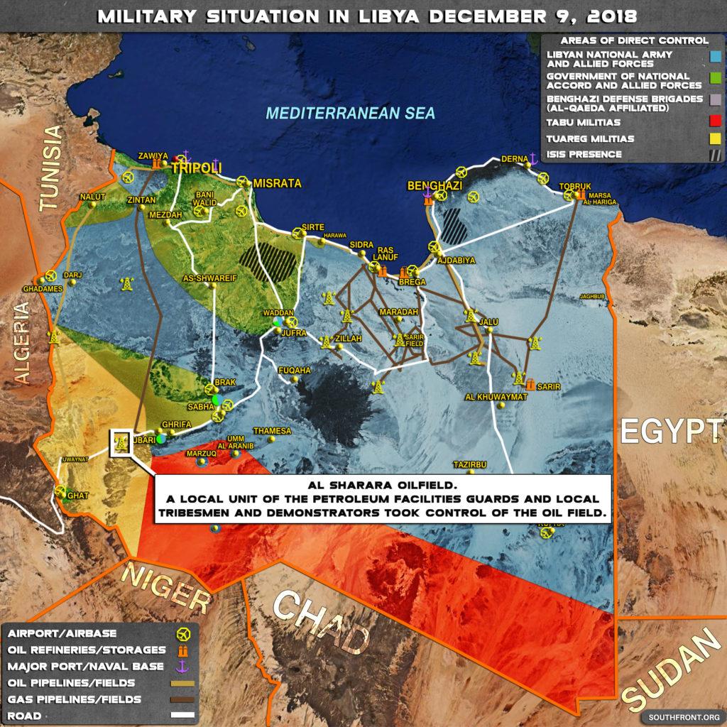 Local Militia, Demonstrators Capture Libya's Largest Oil Field (Map Update)