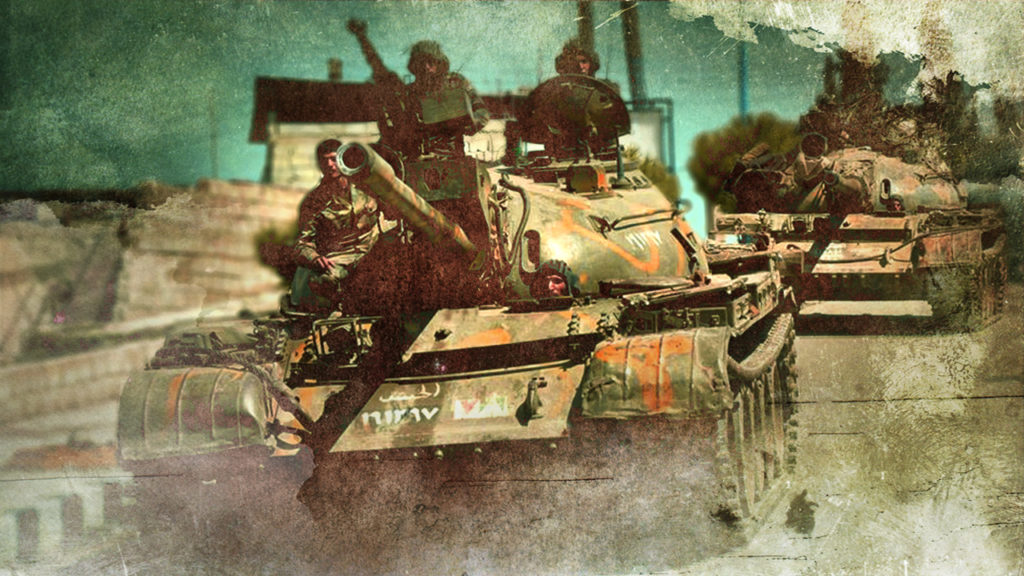 Clashes Between Syrian Army And Militants Continue In Northern Hama