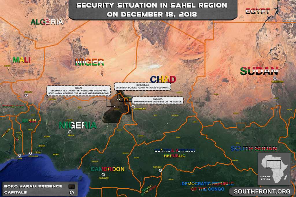 Boko Haram Continues Attacks In Northeastern Nigeria Despite Security Efforts Of Government Forces (Map)