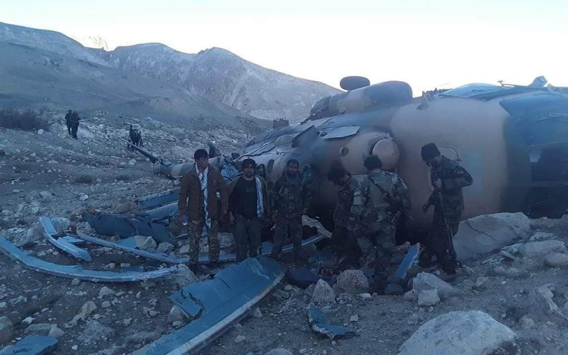 Another Military Helicopter Crashes In Afghanistan's Faryab
