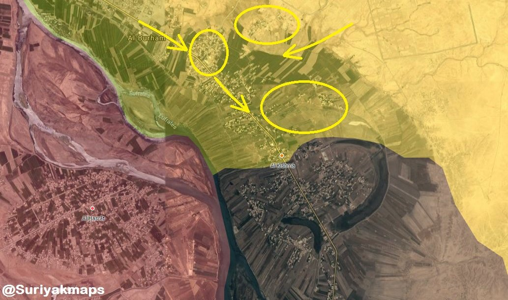 ISIS-Held Pocket In Euphrates Valley Is On Brink Of Collapse: SDF Captures More Towns (Map, Photos)