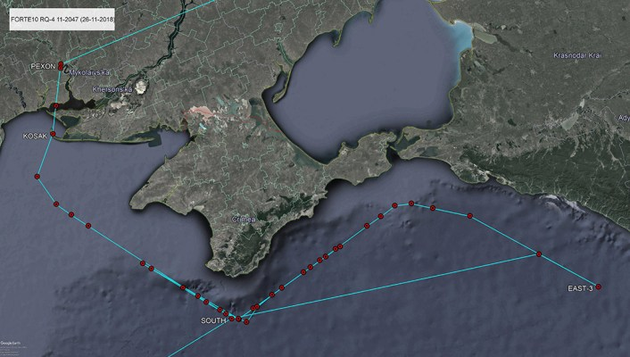 U.S. Expands Its Intelligence Gathering Missions In Black Sea After Kerch Strait Incident: Report