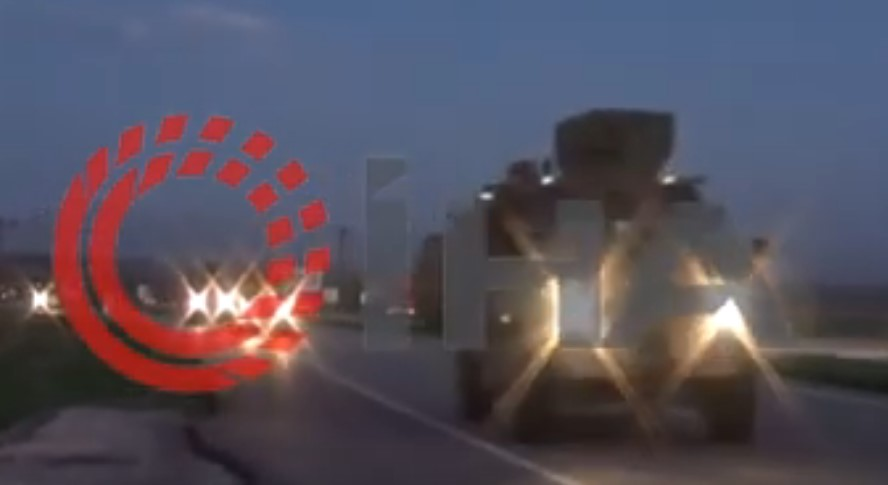Video: Turkey Sends Dozens Of Military Vehicles To Border With Syria's Aleppo Province