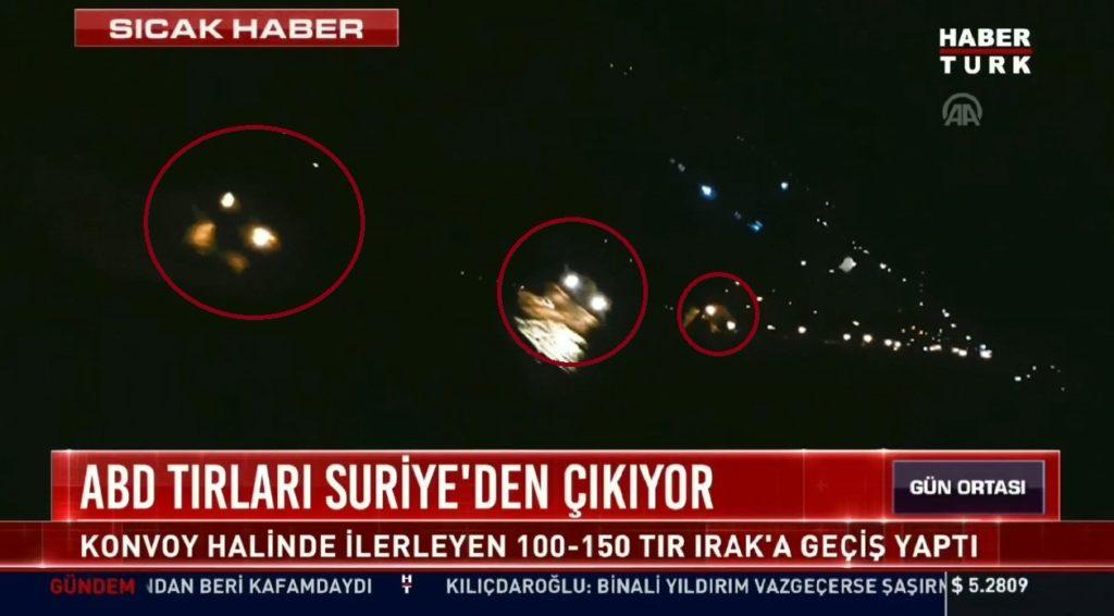 150 US Military Trucks Left Northeastern Syria: Turkish Media