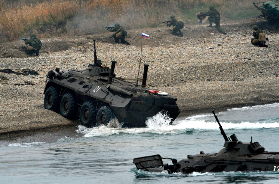 What Role Coastal Troops Play In Russian Homeland Security
