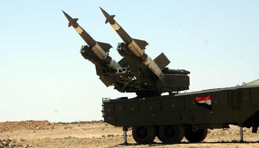 Syrian Air Defense Force Intercepts Missile Near Russian Base In Hama
