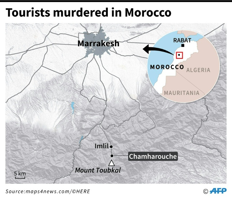 2 Scandinavian Women Killed in Morocco By Suspected ISIS Supporters