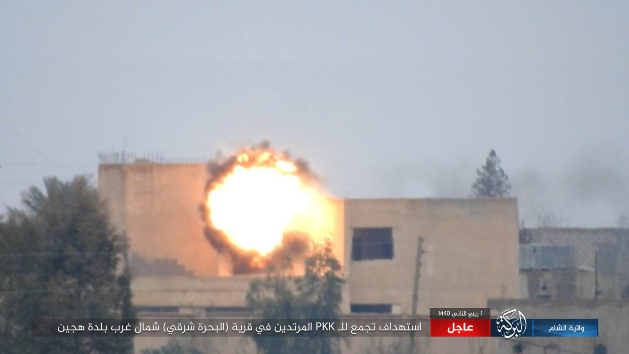 ISIS Kills And Injures 15 SDF Fighters In ATGM Attacks Around Hajin (Video, Photos)