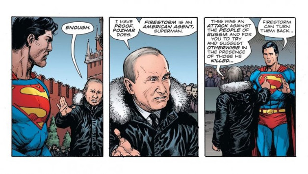 Superman Vs Putin: Propaganda In DC's Doomsday Clock Series Goes Wild
