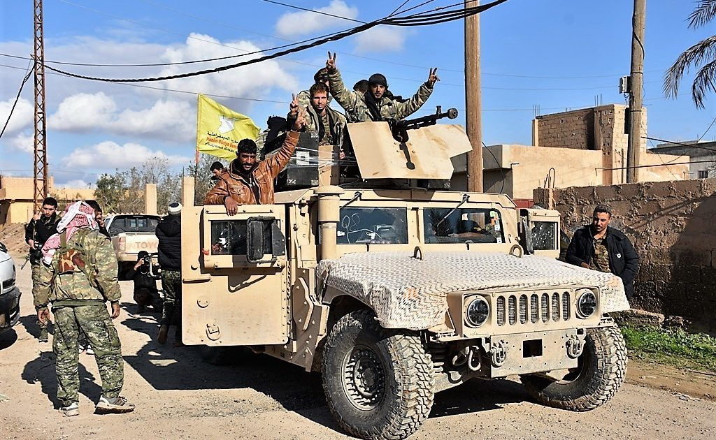 US Soldier & Several SDF Members Killed In Attack In Eastern Syria: al-Mayadeen TV