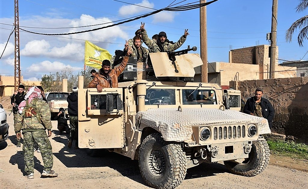 SDF, U.S.-led Coalition Kicked Off Large-Scare Operation In Deir Ezzor