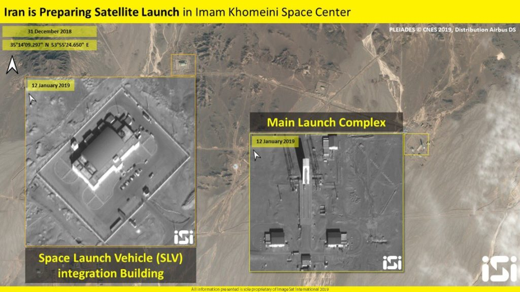 Iran Is Getting Ready To Put Two New Satellites Into Orbit
