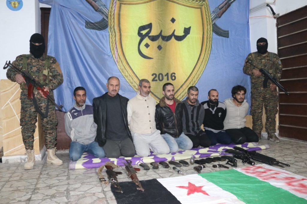 SDF Claims It Detained Turkish-backed Cell That Was Preparing Terrorist Attacks In Manbij