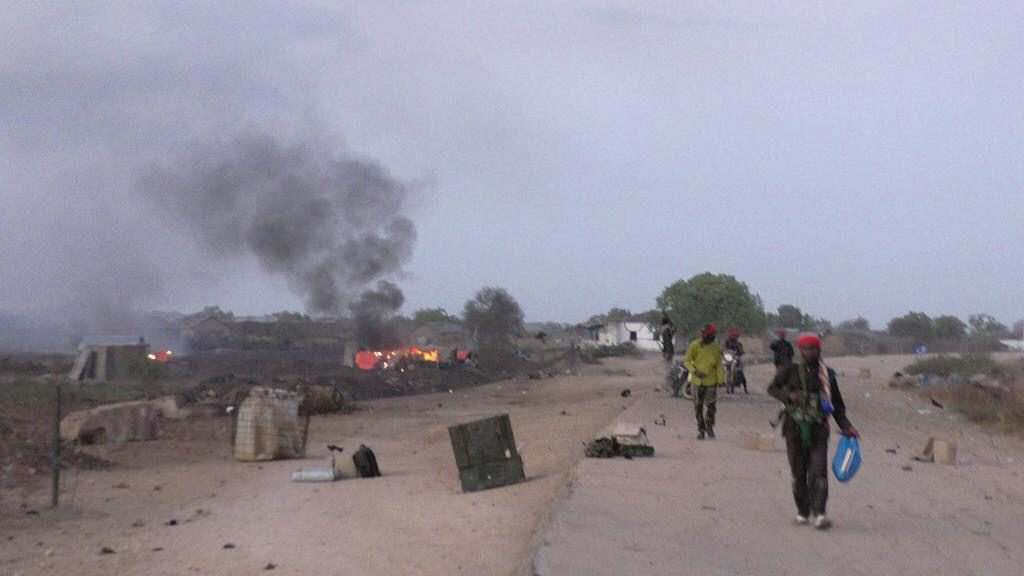 Al-Shabaab Overruns Military Camp In Somali. US Claims 52 Militants Killed In Airstrikes (Photos)