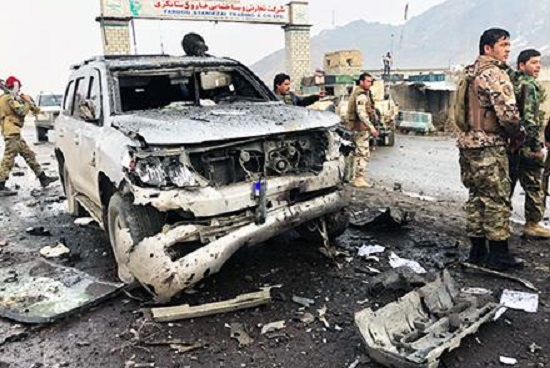 Suicide Bombing Hits Officials' Convoy In Afghanistan's Logar Province (Map, Photo)