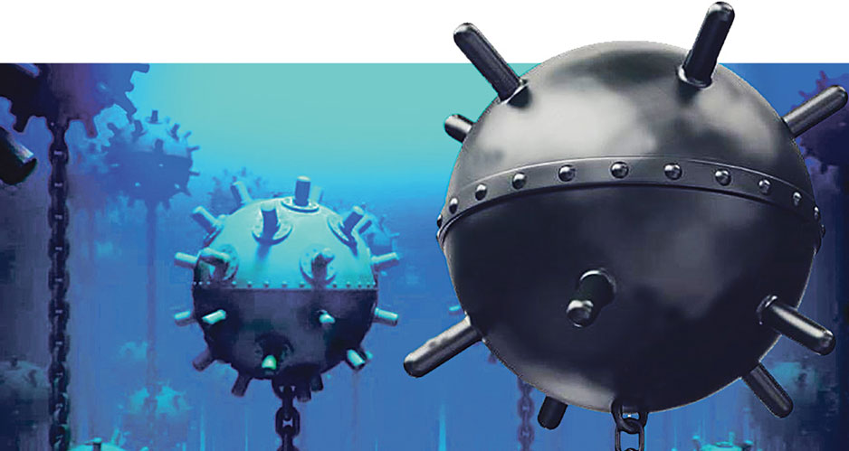 Forgotten Underwater Rakes