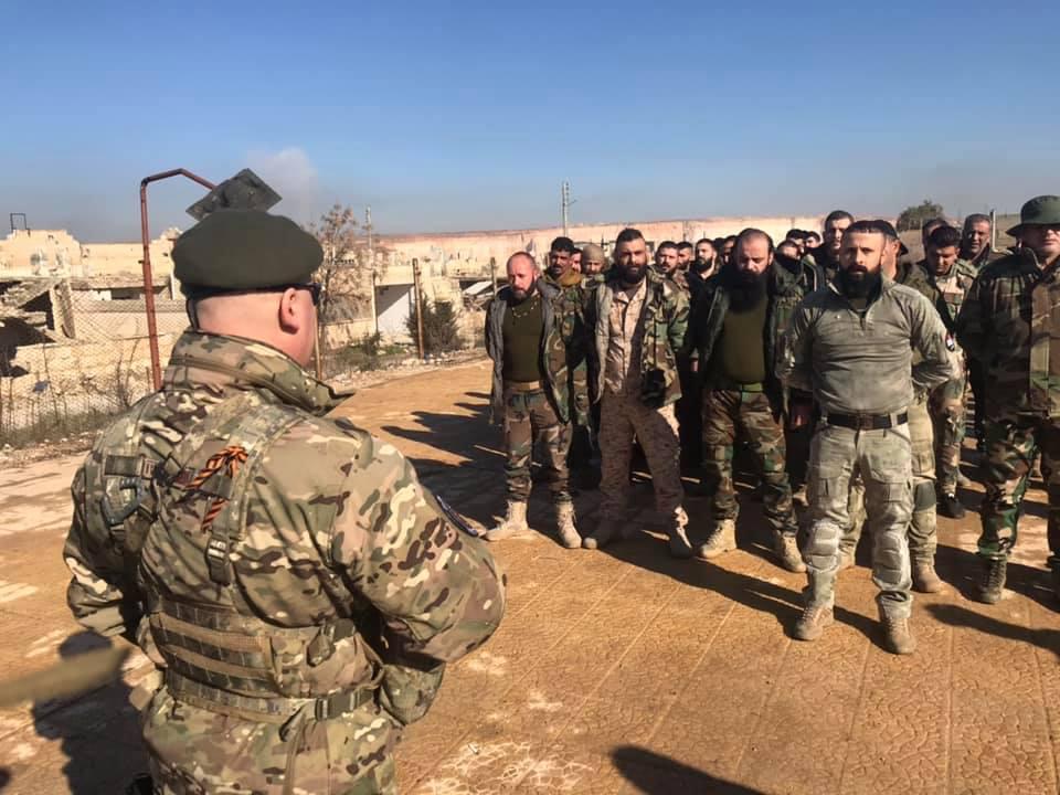 In Photos: Russian Instructors Train Members Of Liwa al-Quds