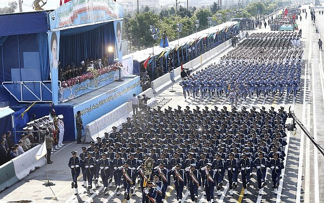 """""""We Are Ready For War That Will Destroy Israel"""": Iran's Air Force Chief"""