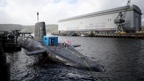 Royal Navy Nuclear Submarine Narrowly Avoids Collision With Ferry In Irish Sea