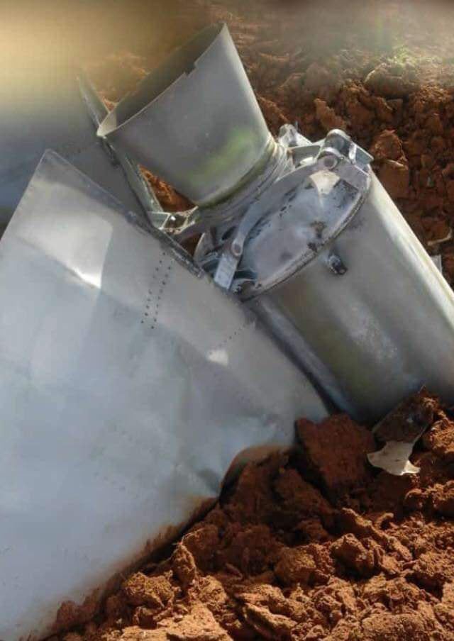 In Photos: Booster Engines Of Syrian S-75 Surface-To-Air Missiles Employed In Encounter With Israel