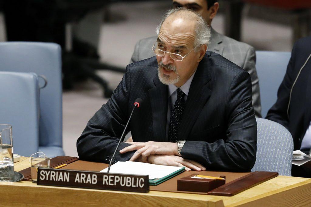 Syria's UN Envoy Threatens Retaliatory Attack On Israel's Ben Gurion Airport
