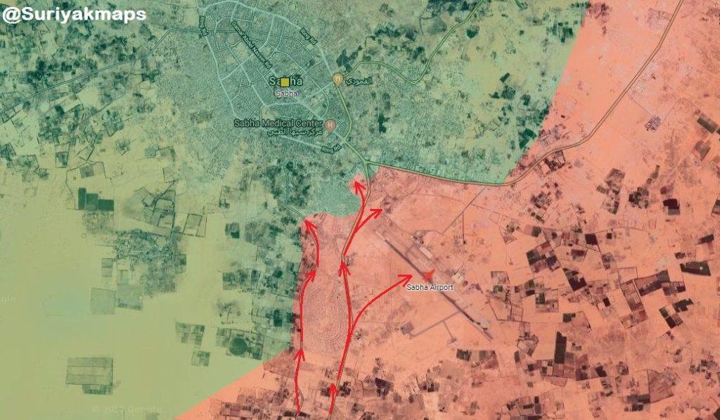 Libyan National Army Makes Important Gains In Southern Libya, Takes Control Of Sabha Citadel (Video, Map)