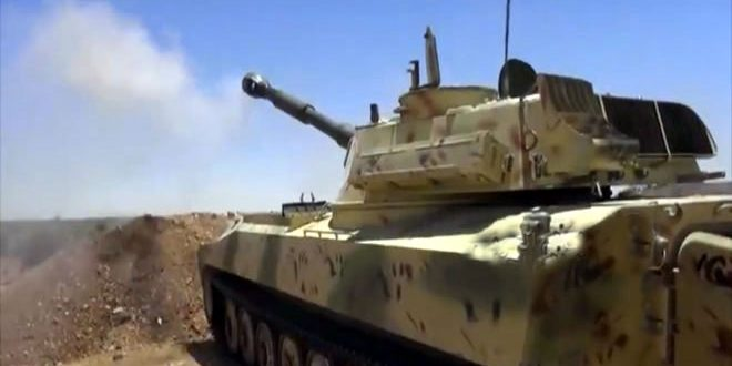 Syrian Army Shelling Militant Positions In Idlib De-Escalation Zone