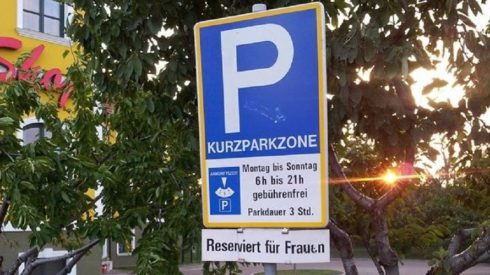 """Toxic Masculinity Strikes In Europe - German Man Sues Over """"Woman-Only"""" Parking Spots"""