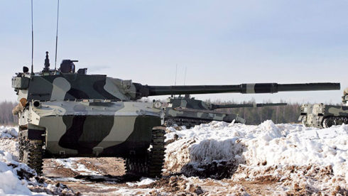 """Russia's """"Sprut-SDM1"""" Self Propelled Tank Destroyers Are Ready For State Trials"""