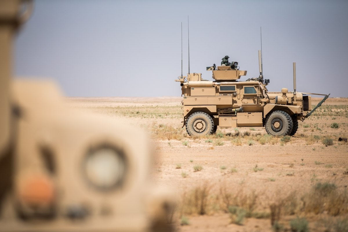 U.S. Forces Evacuate Base In Syria's Al-Hasakah